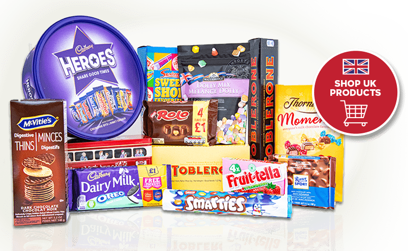 Collection of UK products available for wholesale